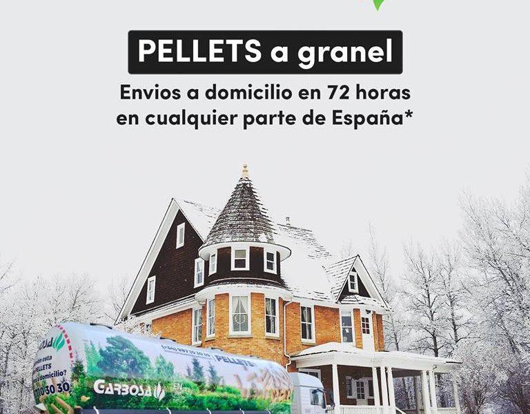 Pellets a granel en 24-72h