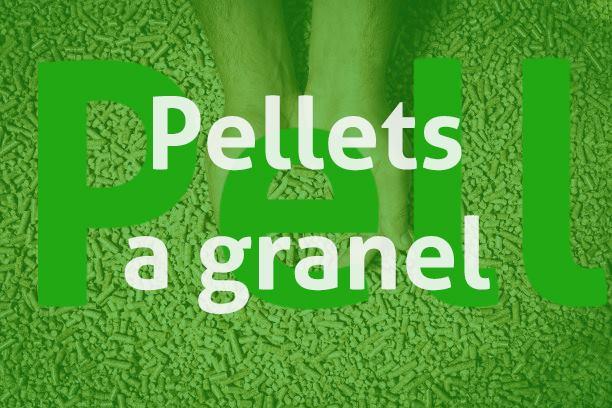 Pellets a granel a domicilio