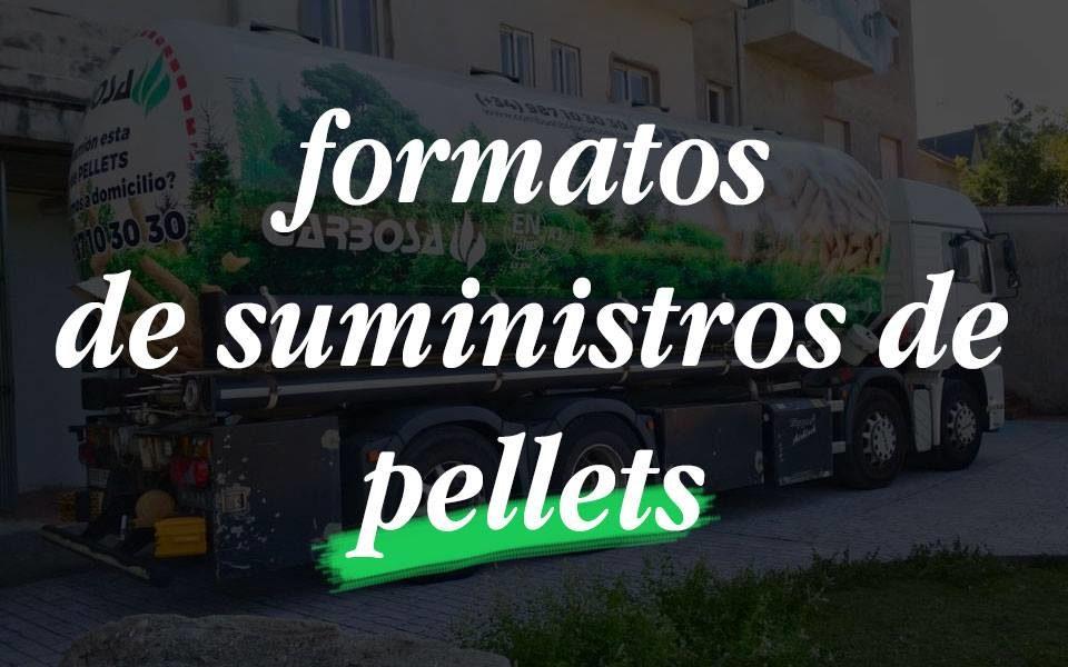 Formatos de suministro de pellets