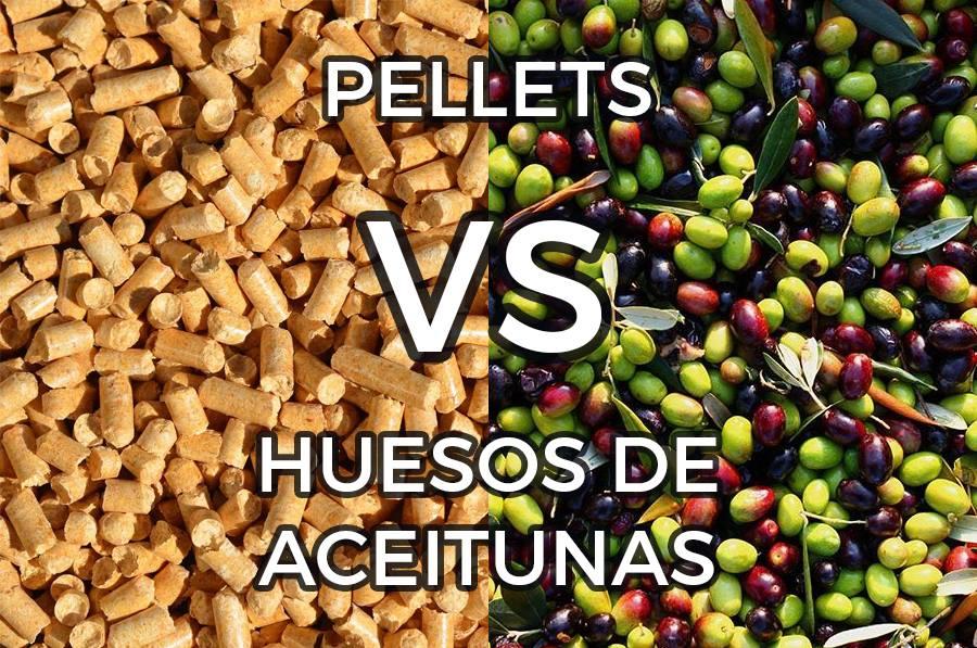 ¿Qué es mejor elpelleto elhueso de aceituna?