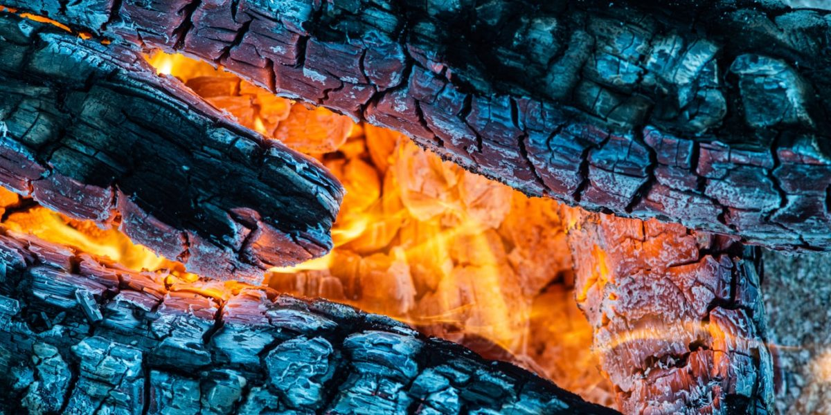 Mi fuego de chimenea
